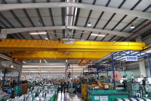 INDUSTRIAL HVLS CEILING FANS HELP IMPROVE THE EFFICIENCY AND SAFETY OF EMPLOYEES