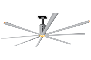 THE BENEFIT OF HVLS INDUSTRIAL CEILING FANS COMPARED TO TRADITIONAL INDUSTRIAL FANS