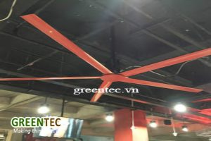 IMPROVE HVAC SYSTEM EFFICIENCY BY ADDING HVLS INDUSTRIAL CEILING FANS