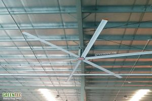 COMPARE HVLS INDUSTRIAL CEILING FANS WITH INDUSTRIAL FANS