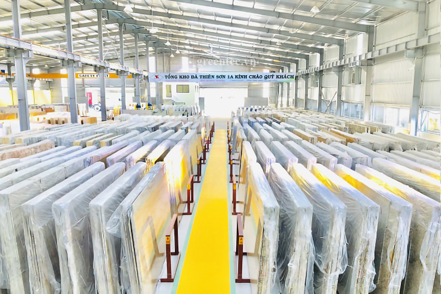 Nhà máy đá granite Thiên Sơn