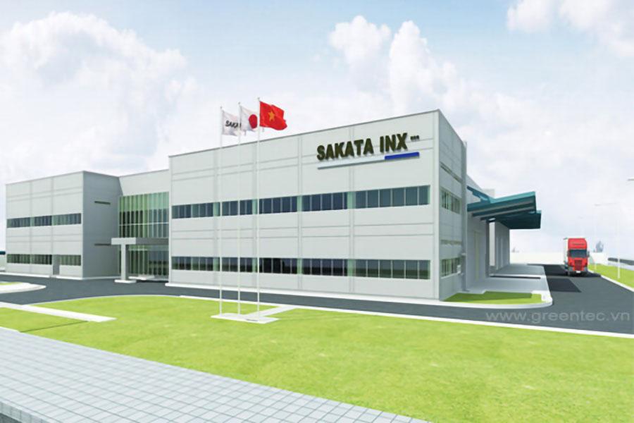 Nhà máy Sakata Inx