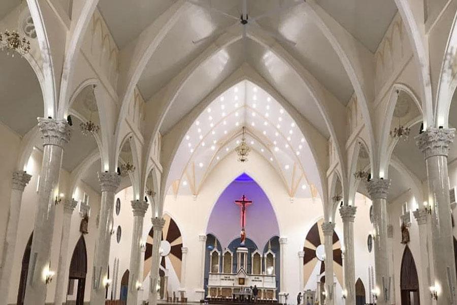 Nhà thờ Tân Thông 01