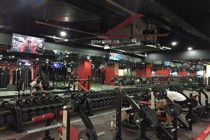 Quạt trần công nghiệp cho phòng Gym