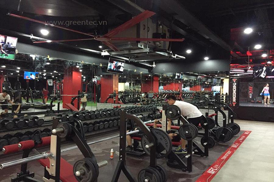Trung tâm thể dục thể hình & yoga california 01
