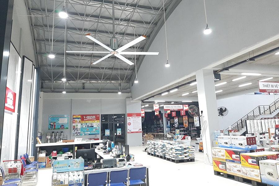 interior facility showroom